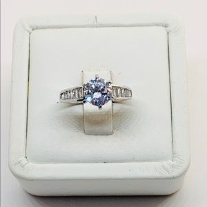 Sterling Silver 925 Women's Engagement Ring